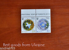 Ukraine stamp 2011 INTERNATIONAL YEAR OF FORESTS coupling EUROPA MNH 2v