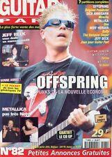Guitar Part #82 -OFFSPRING- Dick Annegarn, Metallica, Buffy Theme Tv