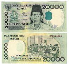 L'Indonesia Indonesia 20000 20.000 rupia 1998/2001 UNC P 138 D