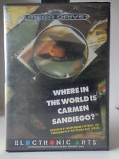 Mega Drive - Where in the World is Carmen Sandiego (PAL) (mit OVP) 10821305