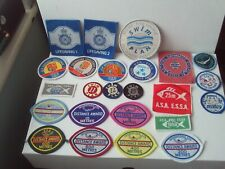 More details for swimming badges/patches sew-on (unused) x 24 inc. asa/sta/international job lot