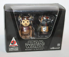 Medicom Bearbrick Disney Star Wars Ewoks Wicket & Paploo Sealed in Box