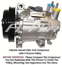 67434 AC Compressor Fits 2003 Infiniti G35 Used