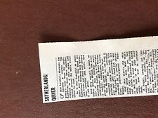 B1M ephemera 1974 concert review london marquee sutherland brothers and quiver