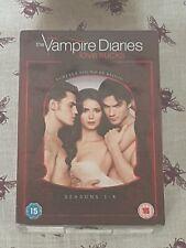 THE VAMPIRE DIARIES LOVE SUCKS SEASONS 1 - 4 **BRAND NEW AND SEALED**