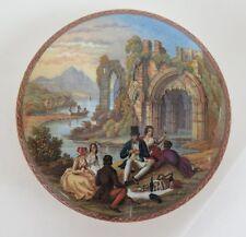 Pot lid. 'The Picnic' No. 354