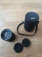 Konica MF 135mm F3.5 Hexanon AE AR Lens 135/3.5 +case
