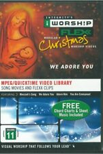 iWorship Flexx Christmas (MPEG/Quicktime Video Library, Integrity Music)
