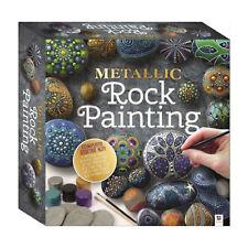 Conjuntos de arte para niños-la positividad de rocas Guijarro Pintura Kit Set-Cepillo Plumas