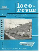 LOCO REVUE N°179 CHEMIN DE FER ECONOMIQUE DES CHARENTES / CONST. D'1 Ae 8/14 HO