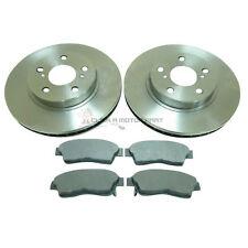 FRONT 2 BRAKE DISCS AND PADS SET NEW FOR TOYOTA CELICA 1.8 ST 16V 1995-1999