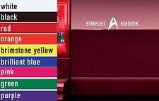Star Trek Starfleet Academy Vinyl Sticker Decal Car-Truck Laptop-Netbook 3016