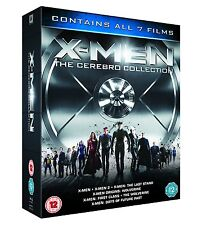 "X MEN THE CEREBRO COLLECTION 7 DISCS BOX SET BLU-RAY RB ""NEW&SEALED"""