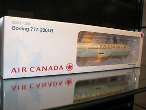 HOGAN WINGS 1/200 SCALE AIR CANADA 777-200LR W/GEAR HG0335G REG# C-FIVK