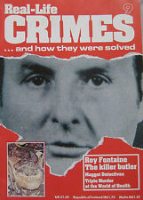 Real-Life Crimes Issue 9 - Roy Fontaine The Killer Butler