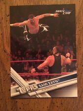 Sami Zayne Topps WWE 2017  Card