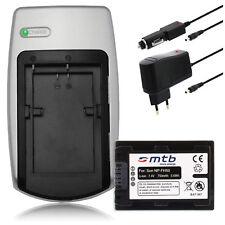 Ladegerät+Akku NP-FP50 FH50 für Sony Alpha 230, 290, 330, 380, 390