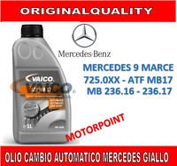 OLIO CAMBIO AUTOMATICO MERCEDES 9 MARCE GIALLO 725.0XX MB 236.16 - 236.17 MB17