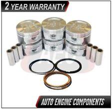 Pistons & Piston Rings Fits Ford E150 E250 F150 Freestar 4.2L - SIZE 040