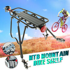 Aluminum Alloy Bike Rear Rack Seat Luggage Carrier Bicycle Post Pannier