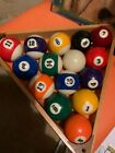 Billiard Ball?s WITH RACK Condition GOOD No Reserve  WOW