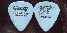 OZZY OSBOURNE 2002 Earth Tour Guitar Pick!!! ZAKK WYLDE custom concert stage #2