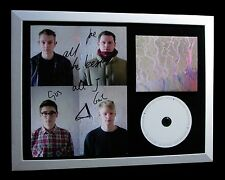 ALT-J+SIGNED+FRAMED+AWESOME+RELAXER+ALL YOURS=100% GENUINE+EXPRESS GLOBAL SHIP