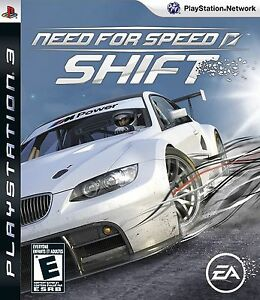 Need for Speed Shift PS3 - Black Label