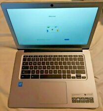 "Acer Chromebook 14 cb3-431-c5ex 2.4 GHz 4 GB RAM Laptop ""locked to manager""intel"