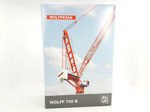Conrad 2032 Wolff Wolffkran 7008 Wippkran 1:87 New Original Packaging