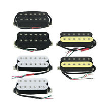 FLEOR Alnico 5 Humbucker Pickup Set Guitar Neck or Bridge Pickup Double Coil