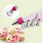 Icing Piping Nozzles Tips Pastry Bag Cake Cupcake Sugarcraft Decorating Tool TSC