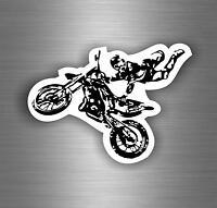 Adesivi adesivo sticker moto auto biker tuning skull teschio motocross r1