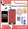 ECRAN LCD IPHONE 5 SE /5C /5S /5SE NOIR/BLANC VITRE TACTILE SUR CHÂSSIS + OUTILS