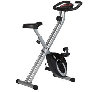 Ultrasport F Bike and F Rider Home Fitness Folding Exercise Bike Ab Trainer