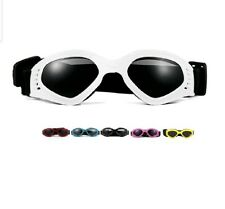 Dog Goggles Sunglasses UV Protective Foldable Pet Adjustable Waterproof Eyewear