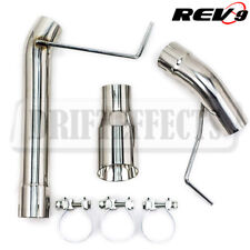 CB-1021A FlowMAXX Exhaust Straight Pipe Stainless Bolt-On For Mustang 05-10 V6