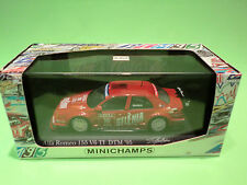 MINICHAMPS 1:43  ALFA  155 DTM  MODENA   -  IN BOX - IN NEAR MINT  CONDITION
