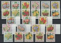 G139309/ LEBANON – AIRMAIL – FLOWERS & FRUITS – YEARS 1973 - 1978 MINT MNH