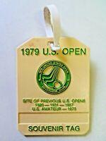Vintage 1979 U.S. Open Tournament Souvenir Tag Inverness Club Golf Bag Tag Ohio