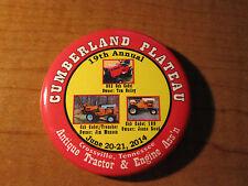CUB CADET June 2014 Crossville TN Antique Tractor Show Button