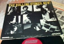 THE ROLLING STONES Now LONDON  Maroon MONO Heart Of Stone RED ROOSTER Jagger Jam