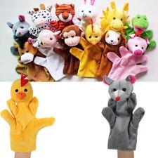 Animal Wildlife Hand Glove Puppets Soft Plush Kids Children Cute Toy 12 Styles