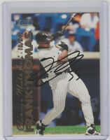 FRANK THOMAS White Sox SIGNED 1999 Fleer Baseball #34 Autograph ON CARD AUTO