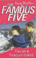 Five on a Treasure Island (Famous Five) by Enid Blyton, Acceptable Used Book (Pa