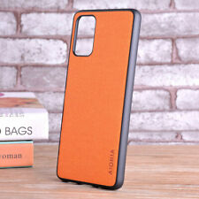 Case for Samsung Galaxy S20 Ultra S10 Lite S9 S8 Plus Textile leather case cover