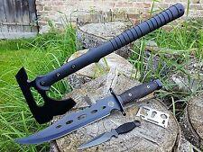 * 4er Canada set * downrange tomahawk hacha + Ranger cuchillo + beimesser + survival-Card