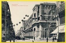 cpa 31 - TOULOUSE (Hte Garonne) Le MUSÉE et Rue d'ALSACE LORRAINE Fête Lampions