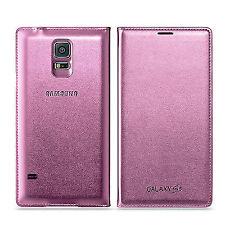 Samsung Galaxy S5 Flip Wallet Case Wg900 Pink