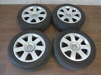4x Original Audi Räder 8H0601025E 7x16 ET42 5x112 A4 B6 B7 Cabrio Felgen Alu